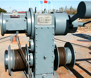 Electric Lifeboat Winch