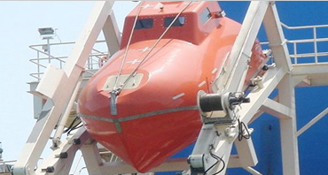 Soochow explains the landing gear for freeload lifeboats for you.